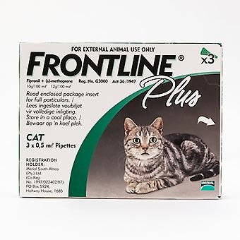 Frontline Plus nemlig Katte & killing, 3 Pack