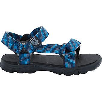 Jack Wolfskin chłopców Seven Seas 2 lekki pasek codzienne sandały