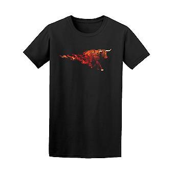 Red Bull Rauchen Kunst T-Shirt Herren-Bild von Shutterstock