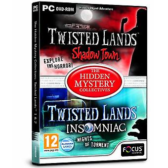 Twisted Lands 1 and 2 - The Hidden Mystery Collectives (PC DVD) - New