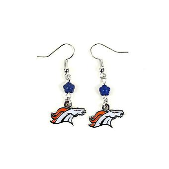 Denver Broncos NFL Sophie Style Dangle Earrings