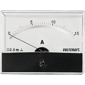 VOLTCRAFT AM-86X65/15A/DC Panel-Messgerät AT THE-86 X 65/15 A/DC