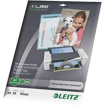 Leitz laminat ark a3 80 mikron blank 25 PC (er)