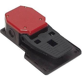 Pizzato Elettrica PA 20301-M2 Foot switch 250 V AC 6 A 1-pedal 1 maker, 1 breaker IP65 1 pc(s)
