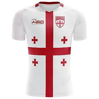 2018-2019 Georgië Flag Concept voetbalshirt