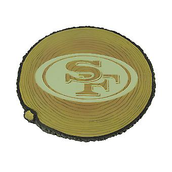 San Francisco 49ers Glow In the Dark Tree Stump Stepping Stone