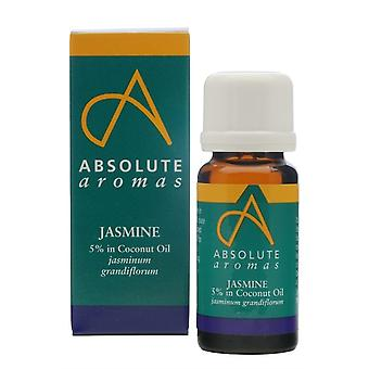 Absolute Aromas, Jasmine 5% Oil, 10ml
