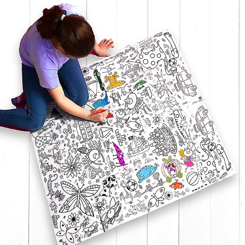 Giant Poster / Tablecloth – Teatime