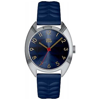 Orla Kiely | Dames Beatrice | Navy Blue Sun Ray Dial | OK2289 Watch