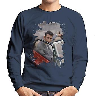 TV Zeiten Clive Owen Chancer 1990 Herren Sweatshirt
