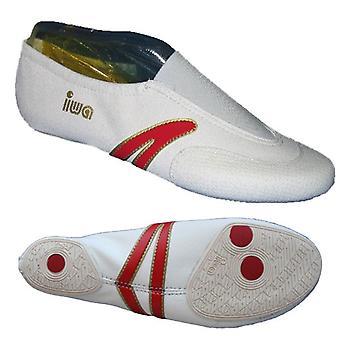 Wit zet ballet slippers met verbeterde enige profiel,