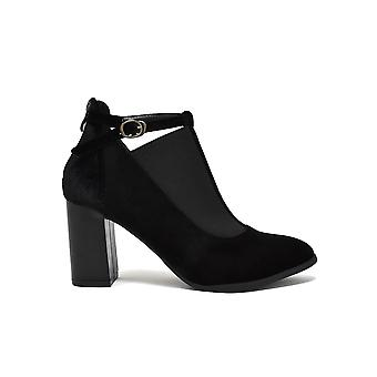 Liberitae boots ankle elastic and buckle black 21803753-01