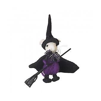 Himmelen sender Halloween følte heks musen