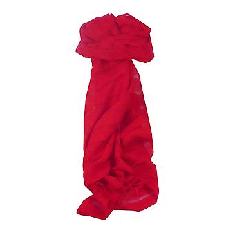 Vietnamez lung eșarfă de mătase Hue Weave Scarlet de pashmina & Silk