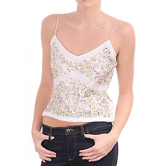 Day Sequin Strappy Vest