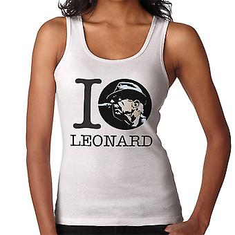 I Heart Leonard Cohen naisten liivi