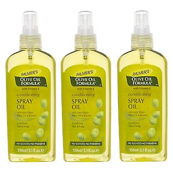 Palmer's Olive Oil Spray Oil 150ml (3-Pack)