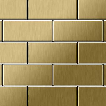 Metallmosaik Titan ALLOY Subway-Ti-GB