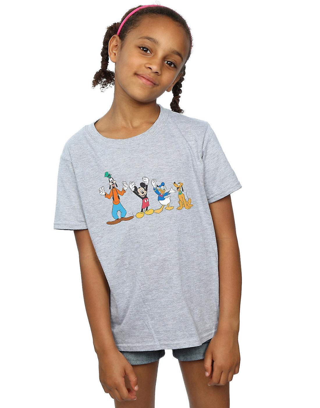 Disney Girls Mickey Mouse Friends T-Shirt