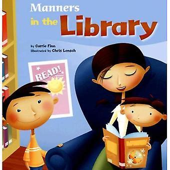 Manerer i biblioteket
