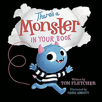 There's a Monster in Your Book [Board book]