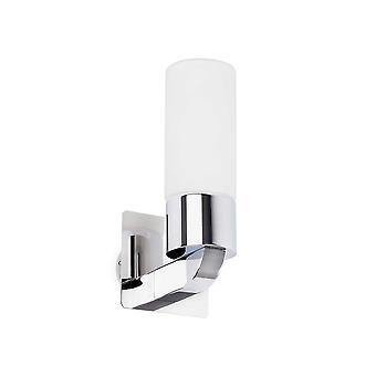 ファロ - ラオス クロームやオパール ガラス光 1 つの浴室の壁光 FARO63320