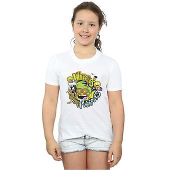 DC Comics Girls Teen Titans przejść Waffle Mania T-Shirt