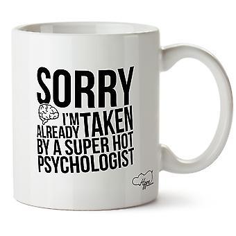 Hippowarehouse жаль, я уже приняты, супер горячей психолог печатные кружки чашки керамические 10oz