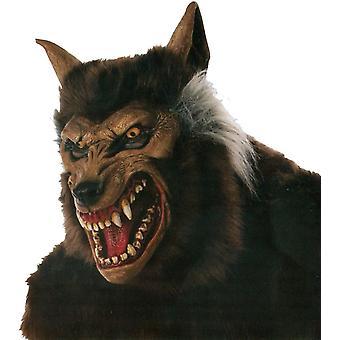 Werewolf Deluxe Mask For Halloween
