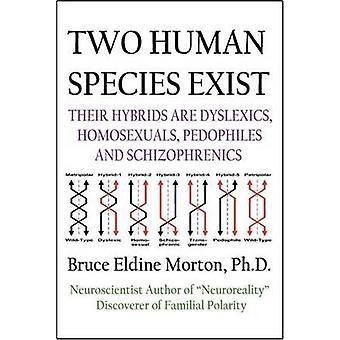 Esistono due specie umane relativi ibridi sono Dylsexics omosessuali pedofili e schizofrenici da Morton & Bruce Eldine