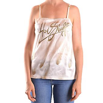 John Richmond Ezbc082102 Women's White Silk Top
