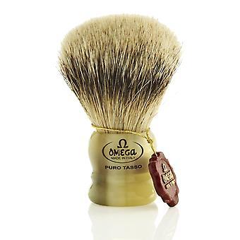 Pennello da barba Omega 599 Badger Pure capelli