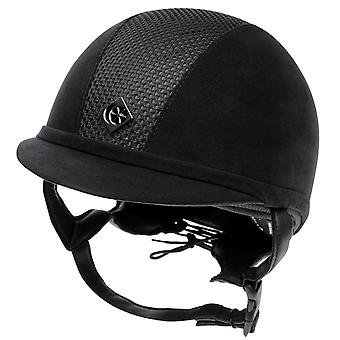 Charles Owen AYR8 equitazione cappelli Juniors equestre accessori per bambini