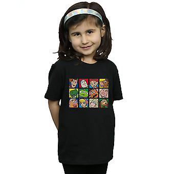 T-shirt Disney ragazze Toy Story carattere piazze