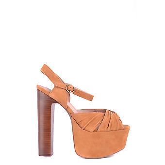 Jeffrey Campbell Ezbc132007 Women's Brown Suede Sandals
