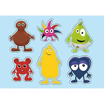 Babblarna- Form puzzle, 6 Figures, 1- 3Years