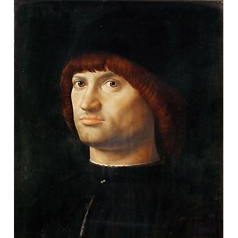 Portrait d'un homme, Antonello da Messina, 36x30cm