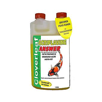 Cloverleaf Acriflavine Answer 1Ltr
