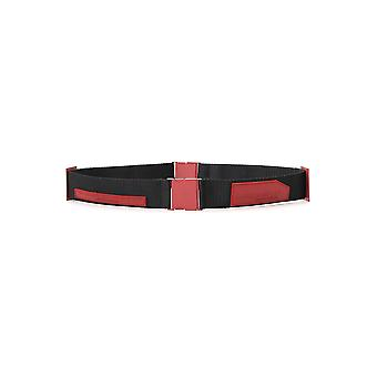 A Cold Wall Cw9sxa03actc008316 Uomini's Burgundy Nylon Belt