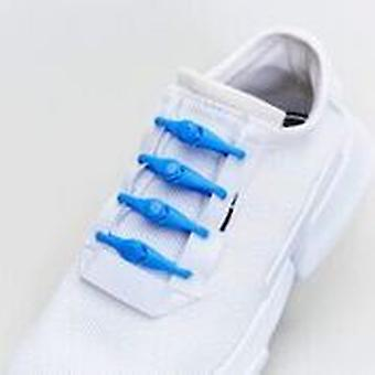 1 Pack of 10 Hickies Kids Replacement Laces for fast slip-on ~ Sky Blue