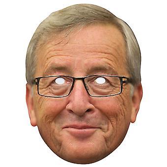 Jean-Claude Juncker Single 2D Card Party Fancy Dress Mask