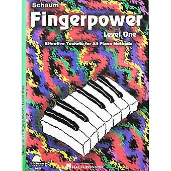 Fingerpower - Level One: Effective Technic for All Piano Methods (Schaum Publications Fingerpower(r))