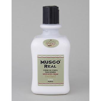 Musgo ekte Body Cream-lime/Basil