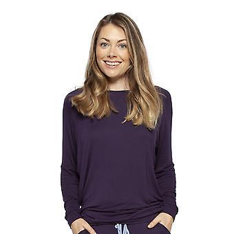 Cyberjammies 4233 vrouwen ' s Sophie Ink blauwe modal pyjama's top