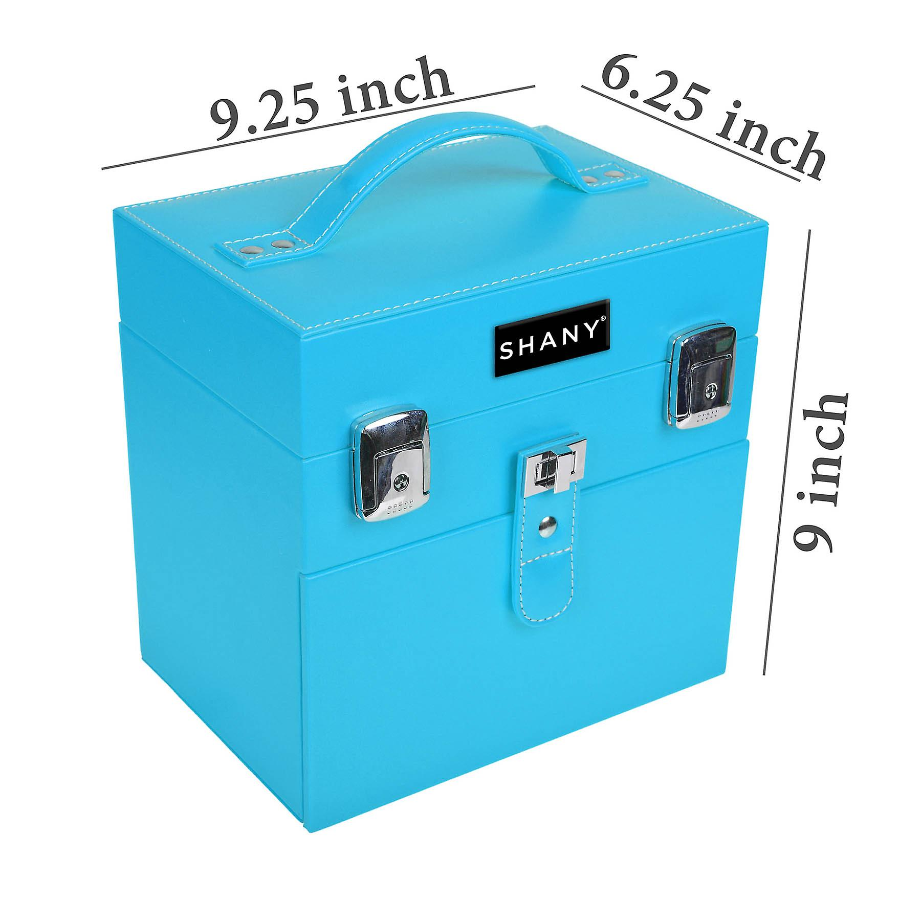 SHANY Color Matters - Nail Accessories Organisateur et Maquillage Train Case