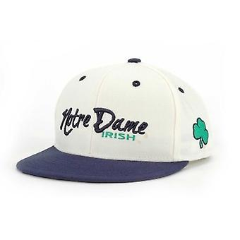Notre Dame Fighting Irish NCAA TOW Cream/Navy Snapback Hat