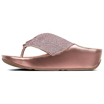 Fitflop™ Twiss™ Crystal Toe-post Pink