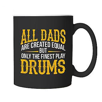Hienoimpia isät rummut, musiikki muki-rumpali muusikko Cup lahja