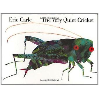 Very Quiet Cricket Board Book by Carle Eric - 9780399226847 Book
