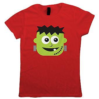 Baby Frankenstein Damen T-Shirt   Halloween-Fancy-Kleid Kostüm Trick oder behandeln   Heiligtümer Eve Ghost Kürbis Hexe Trick behandeln gruselig   Halloween-Geschenk ihre Mutter